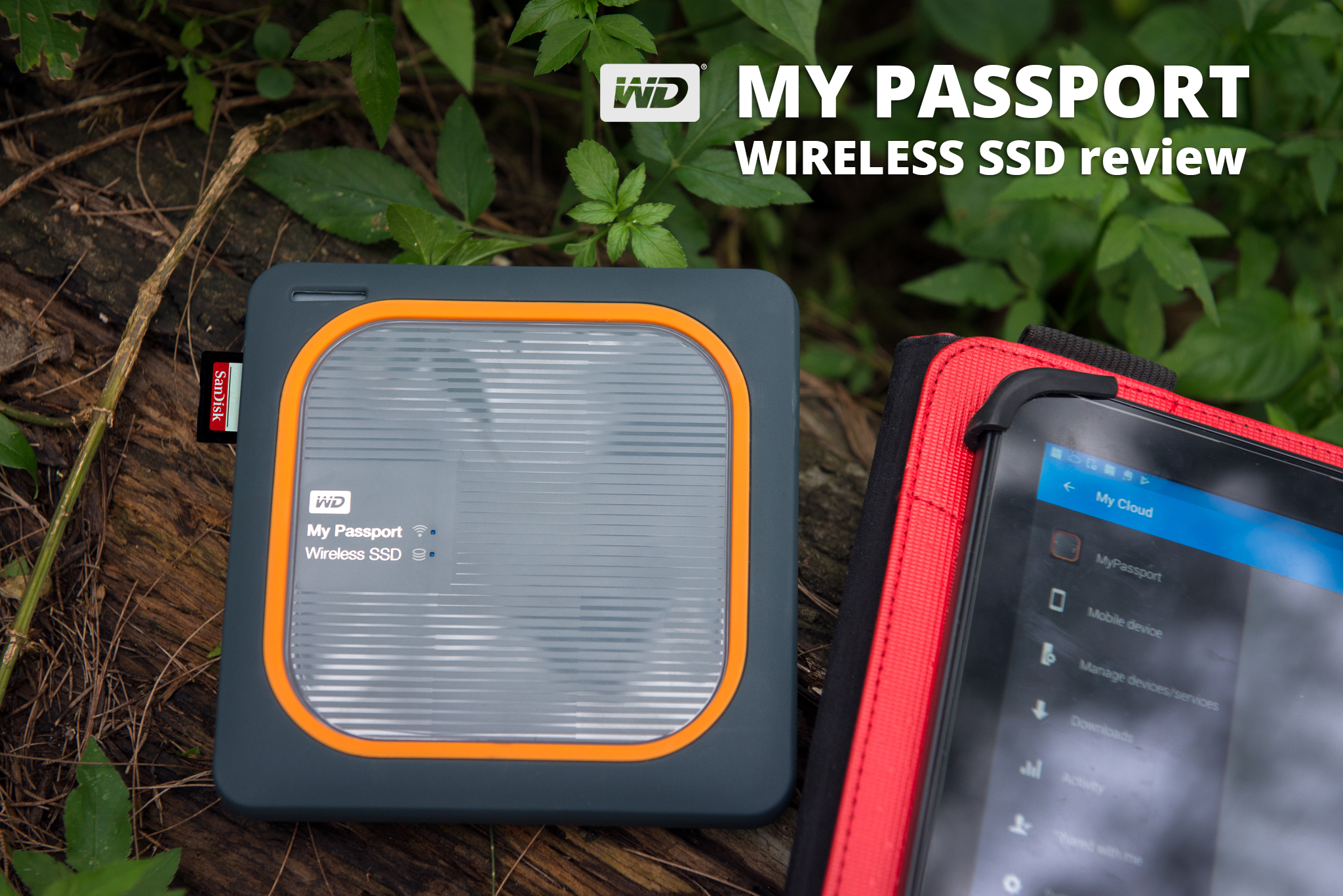 WD My Passport Wireless SSD 500GB review | C S Ling Photography